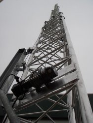 18 m telescopic alu-tower