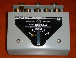 Alpha Delta ASC-4B Coax Switch.
