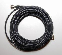RG8X (30 m) coax cable with connectors