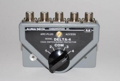 Alpha Delta ASC-4B/N Coax Switch.