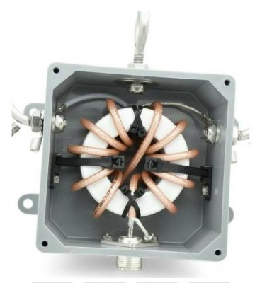 Balun Design 1:1 160-10 m low bands, 5 kW