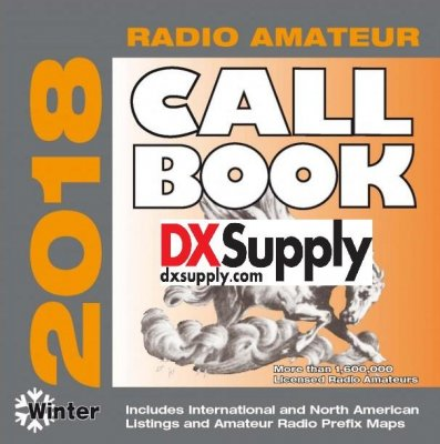 Radio Amateur Callbook 2018