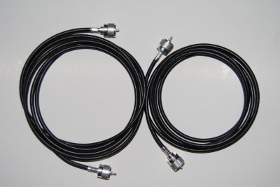 RG213 (2 m) coax cable with connectors